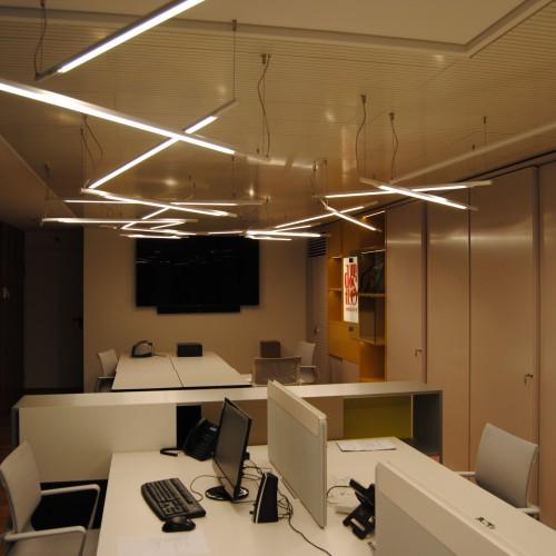 Oficinas Prointec - Slim Suspendida